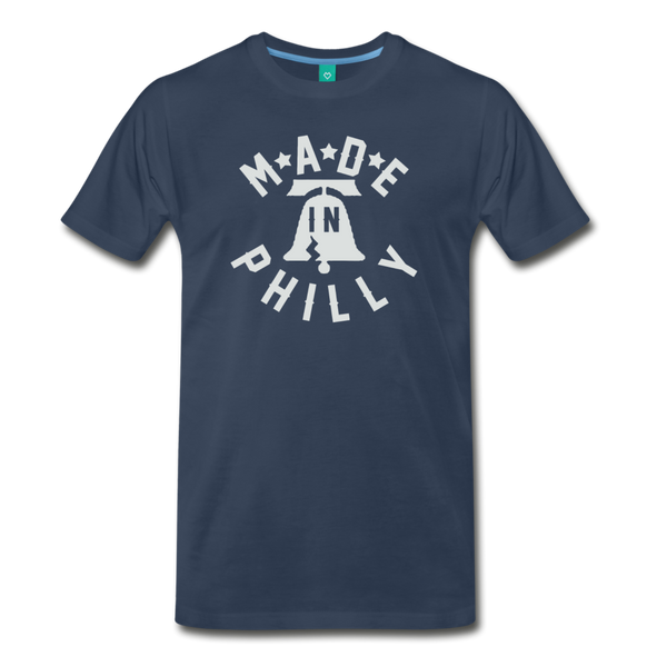 Made in Philly Men's T-Shirt - navy