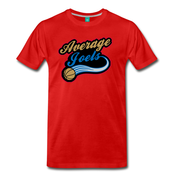 Average Joel's Men's T-Shirt - red
