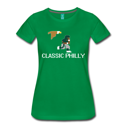 Classic Philly Women's T-Shirt - kelly green