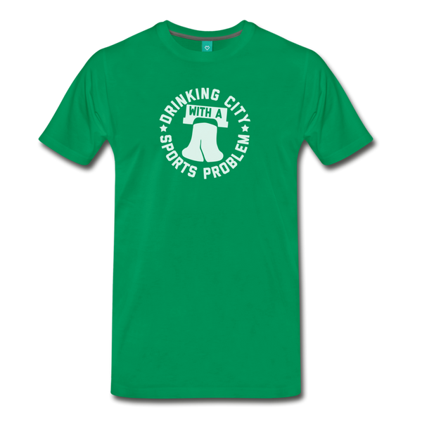 Sports Problem Men's T-Shirt - kelly green