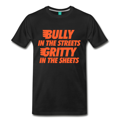 Gritty in the Sheets Men's T-Shirt - black