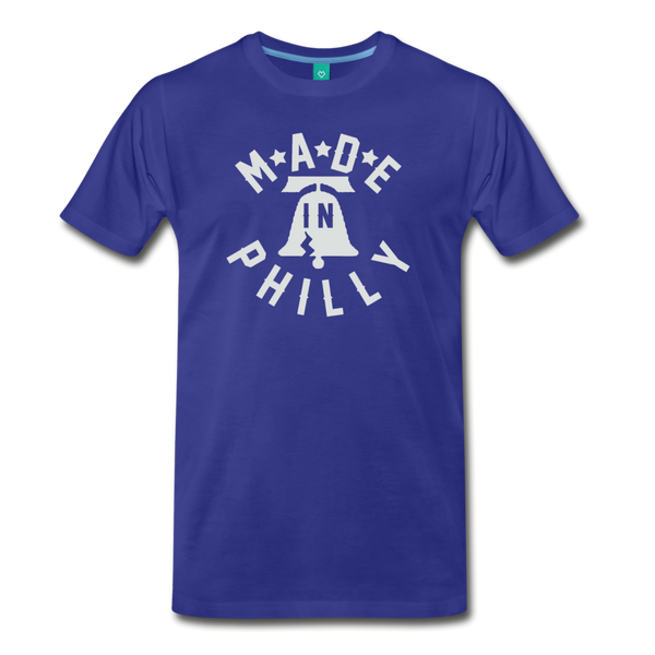 Made in Philly Men's T-Shirt - royal blue