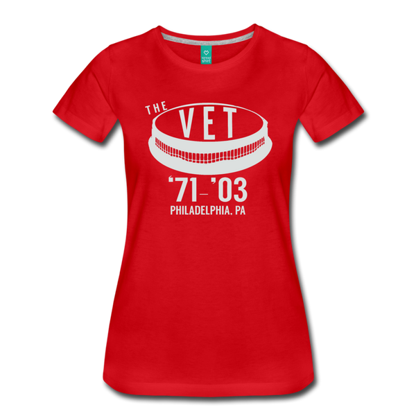 The Vet Women's T-Shirt - red