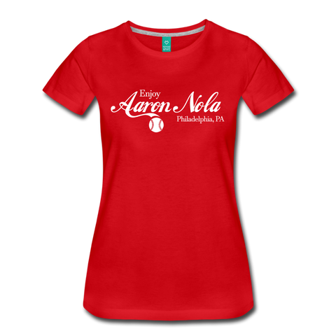 Coca-Nola Women's T-Shirt - red