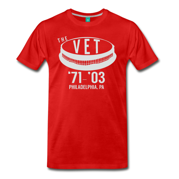 The Vet Men's T-Shirt - red