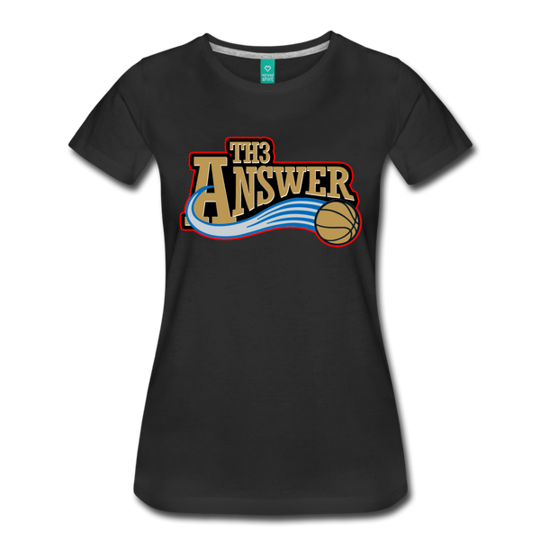 Th3 Answer Women's T-Shirt - black
