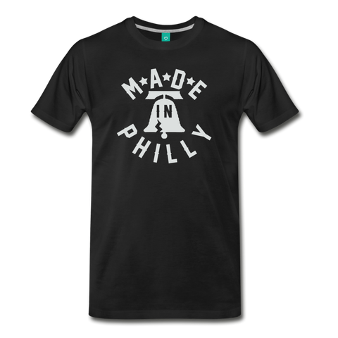 Made in Philly Men's T-Shirt - black