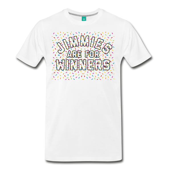 Jimmies Men's T-Shirt - white