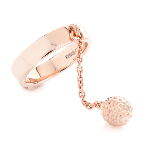 Typhoon Palace Rose Gold Shackle Ring