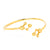 Gold Vermeil Atomic Sphere Bangle