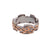 Typhoon Palace Gunmetal Interlocking Ring