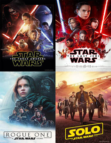 Star Wars 4 Film Bundle (MOVIES ANYWHERE)