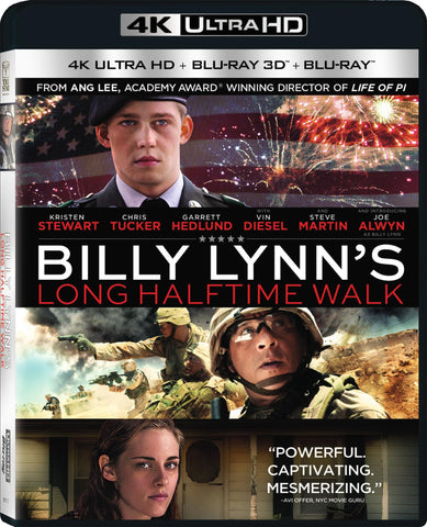 Billy Lynn's Long Halftime Walk 4K UHD VUDU/MA or itunes HD via MA