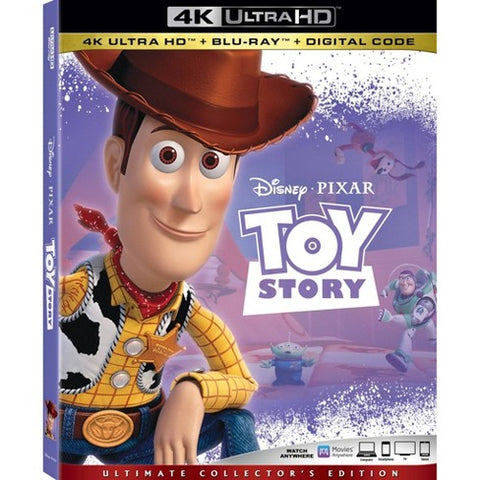 Toy Story 4K UHD VUDU/MA or itunes HD via MA