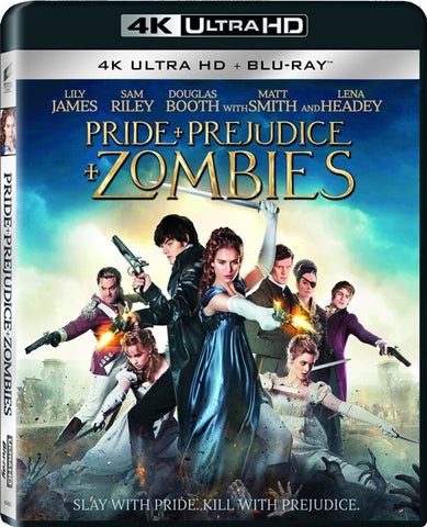 Pride, Prejudice & Zombies 4K UHD VUDU/MA or itunes HD via MA