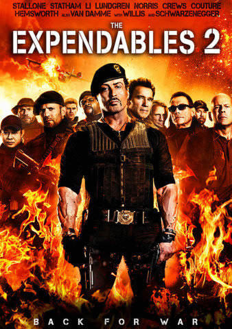 The Expendables 2 UVHDX Portion Only