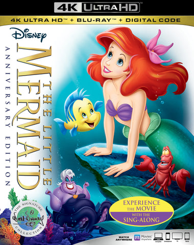 The Littler Mermaid 4K UHD MA/VUDU or itunes HD via MA
