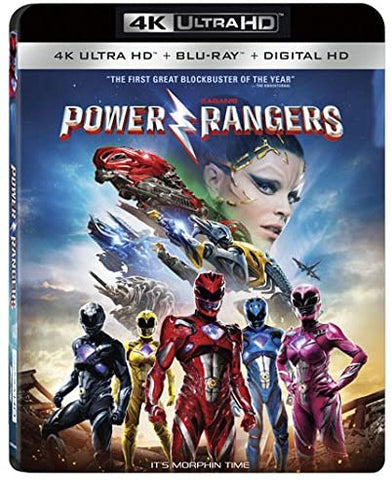 Power Rangers 4K UHD VUDU (Does not port to MA)