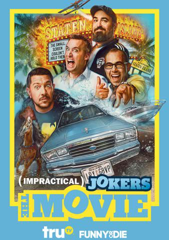 Impractical Jokers The Movie SD VUDU/MA or itunes SD via MA