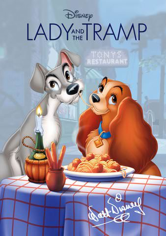 Lady & The Tramp HD (MOVIES ANYWHERE)