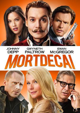 Mortdecai HD VUDU (Does not port to Movies Anywhere)