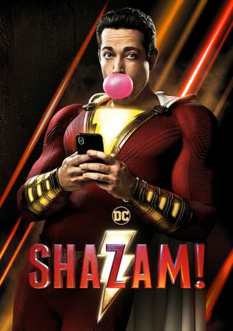 Shazam! HD VUDU or itunes HD via MA