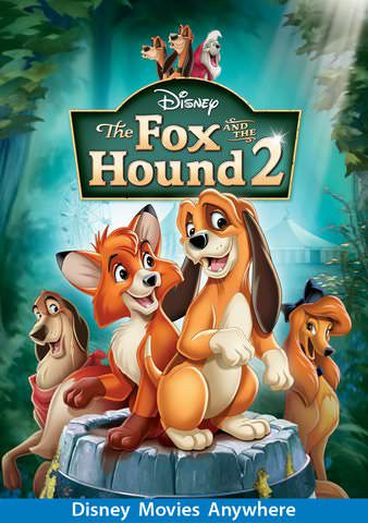 The Fox and The Hound 2 HD (MOVIES ANYWHERE)