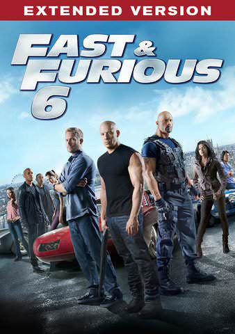 Fast & Furious 6 Extended UVHDX