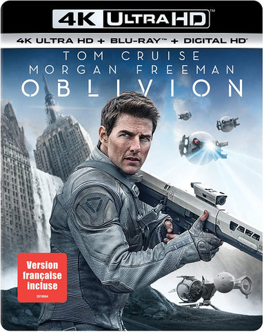 Oblivion 4K UHD itunes (Ports to VUDU in 4K UHD) (Must redeem in itunes)