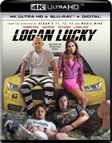 Logan Lucky 4K UHD VUDU/MA or itunes HD via MA