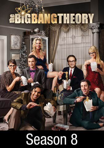 The Big Bang Theory Season 8 SD VUDU