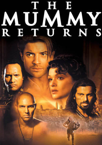 The Mummy Returns UVHDX Portion