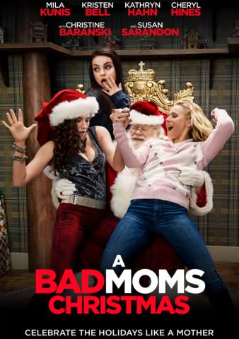 A Bad Mom's Christmas itunes 4K UHD ONLY