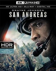 San Andreas 4K UHD VUUD/MA or itunes HD via MA