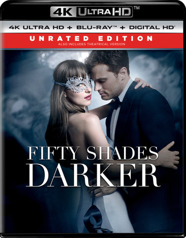 50 Shades Darker (UNRATED) itunes 4K UHD (Ports to VUDU/MA via MA in 4K UHD)
