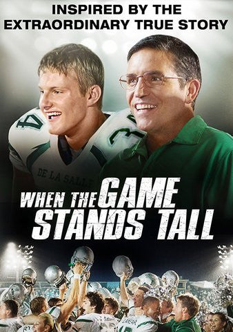 When the Game Stands Tall VUDU/SD or itunes SD via MA