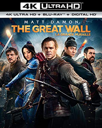 The Great Wall 4K UHD itunes (Ports to VUDU and MA in 4K UHD via MA)