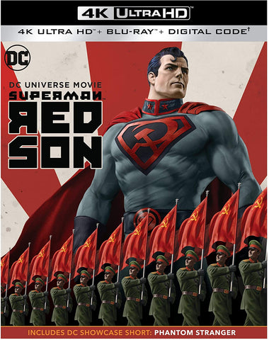 Superman Red Son HD VUDU/MA or itunes HD via MA