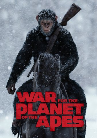 War for the Planet of the Apes HD VUDU/MA or itunes HD via MA