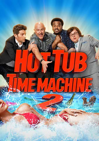 Hot Tub Time Machine 2 HD VUDU (Does not port to MA)