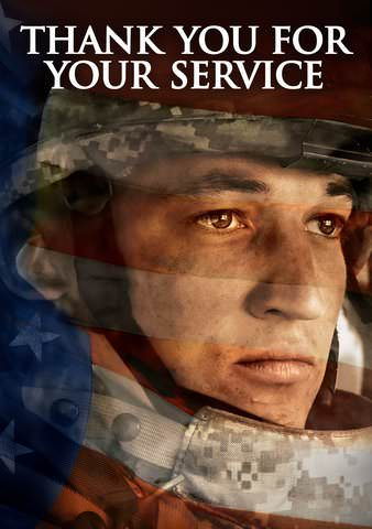 Thank You For Your Service HD VUDU/MA or itunes HD via MA