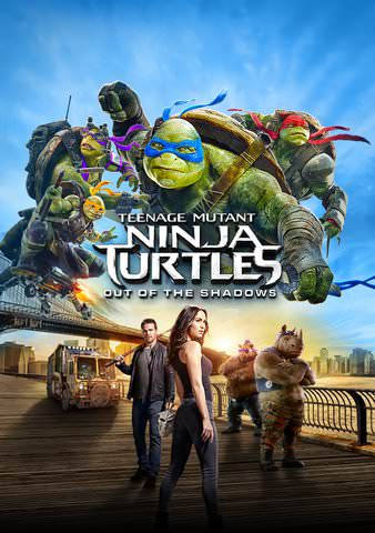 TMNT Out of the Shadows HD VUDU