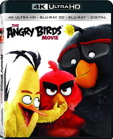 Angry Birds 4K UHD VUDU/MA or itunes HD via MA