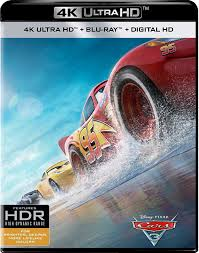 Cars 3 4K UHD VUDU/MA (Redeems in Movies Anywhere)