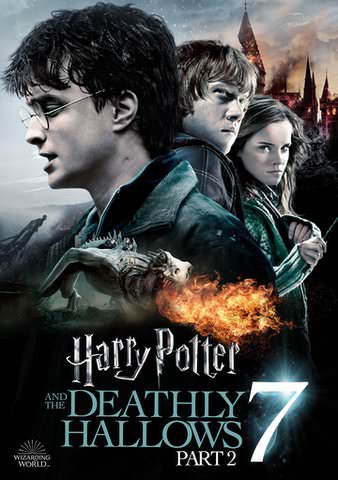 Harry Potter & The Deathly Hallows Part 2 HD VUDU/MA or itunes HD via MA