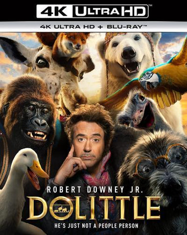 Dolittle 4K UHD VUDU/MA or itunes HD via MA