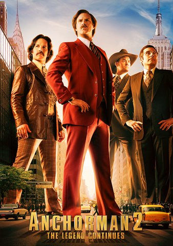 Anchorman 2 itunes HD
