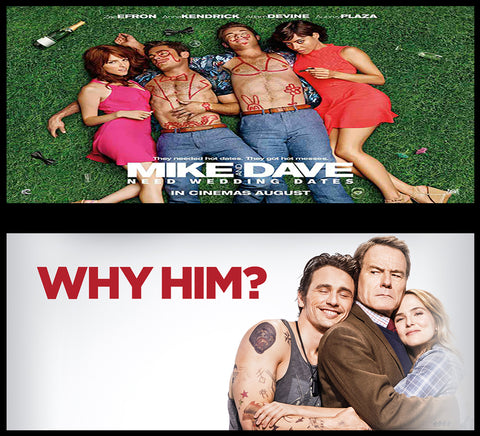 Mike & Dave/ Why Him HDX or itnunes HD Bundle