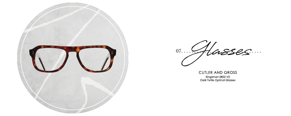 Cutler and Gross Kingsman 0822-V2 Dark Turtle Optical Glasses