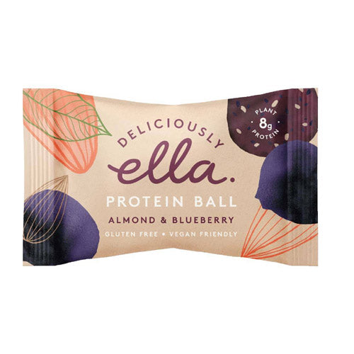Deliciously Ella Almond and Blueberry Protein Ball x 6